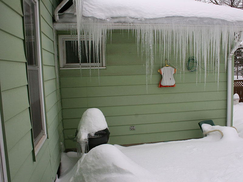 Icicles on your Roof?